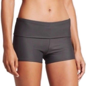 MERONA Swim Fold Over Boyshort Bottom Grey Size XL